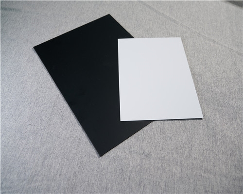 PVC黑白光片
