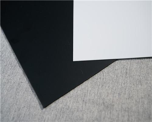 熱銷PVC黑白片材