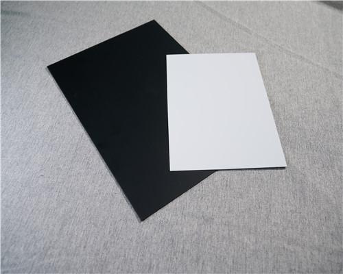 精選黑白PVC片